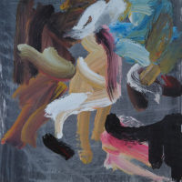 Automatics-106 Jean-Paul Tibbles Automatics painting 106 - Copyright Jean Paul Tibbles